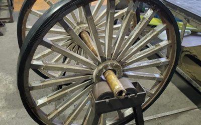 馬車の車輪